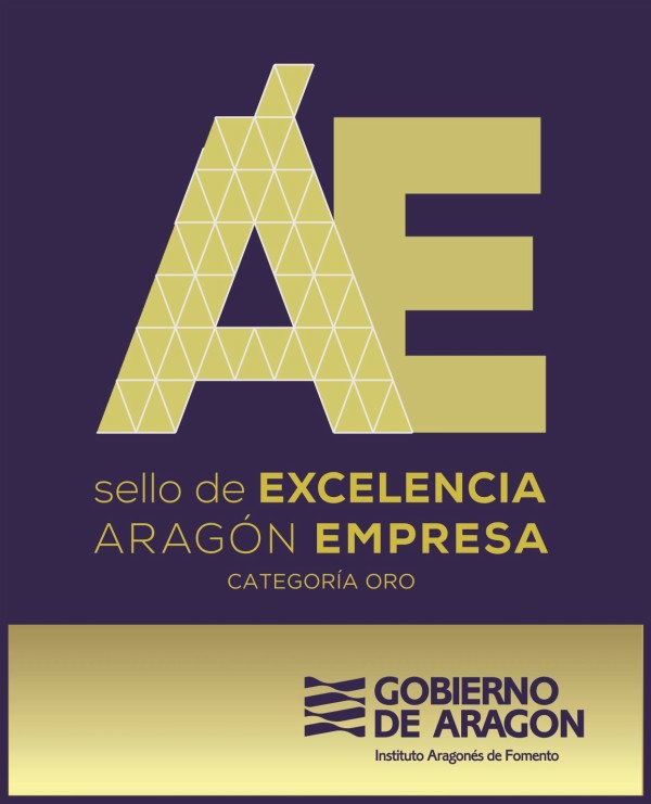 SELLO DE EXCELENCIA ARAGÓN EMPRESA, categoría ORO